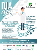 DiaDay 2018, farmacie della Campania pronte per la campagna di screening